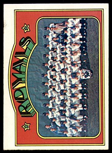 - 1972 Topps # 617 Royals Team Kansas City Royals (Baseball Card) Dean's Cards 5 - EX Royals