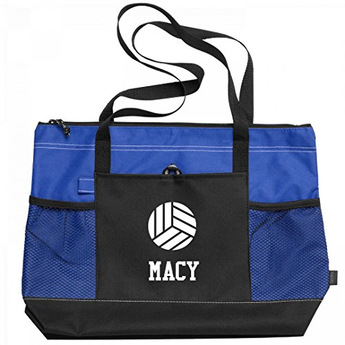 Volleyball Gear Bag For Macy: Gemline Select Zippered Tote - Court Macy's