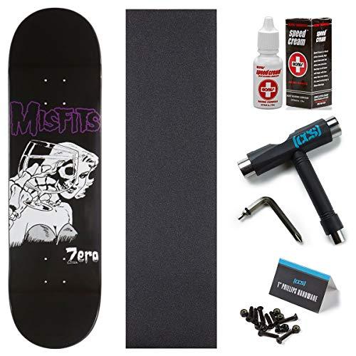 Zero x Misfits Die Die Skateboard Deck - 8.25