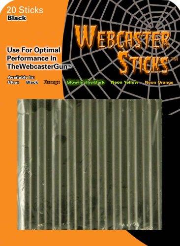 The Shadows Edge 99005 Webcaster Refill Sticks, 20 Count, Black