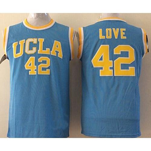 newest 88ef5 28022 FORST Men's UCLA Bruins NO.42 LOVE Basketball Jersey NCAA ...