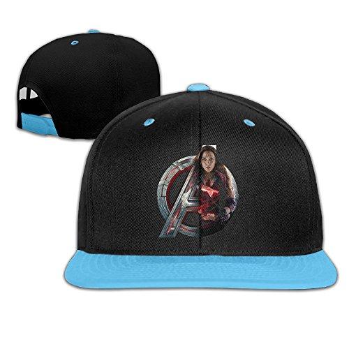 Avengers Age Of Ultron Scarlet Witch New Costume (Amone Scarlet Witch Avenge Girls Unisex Baseball Cap Adjustable Hat RoyalBlue)