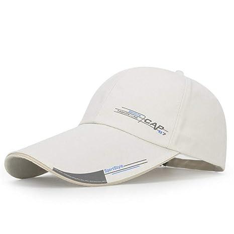 DDMGB Sombrero de Beanie Long Brim Shade Snapback Sports Cap ...