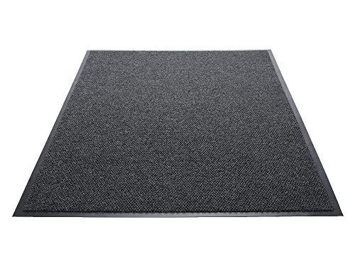 (Guardian Golden Series Hobnail Indoor Wiper Floor Mat, Vinyl/Polypropylene, 2'x3', Charcoal)