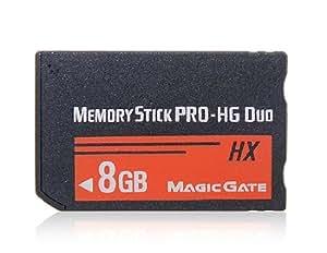 Vayne HX de 8 GB Memory Stick (Negro y Rojo)