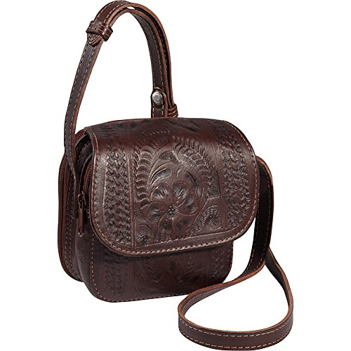 Ropin Cross West Bag Brown body Small nrrqwxvCa