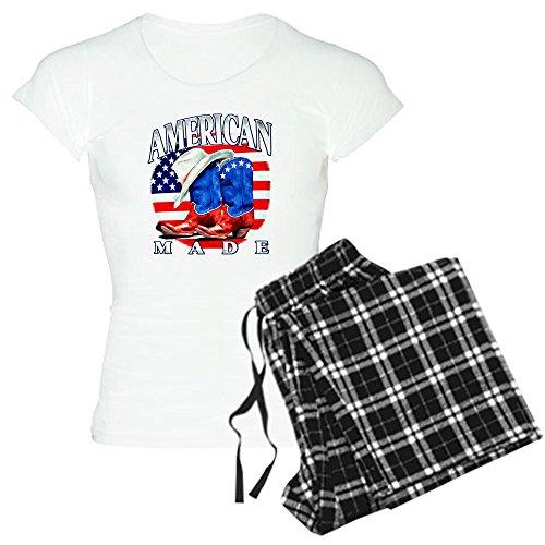 Royal Lion Women's Light Pajamas US American Flag Country...