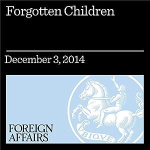 Forgotten Children Periodical