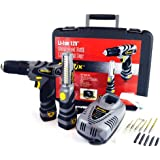 Durofix RD1286-KL 12V Cordless Combo Drill & Light Kit (2 Tools & Accessories)
