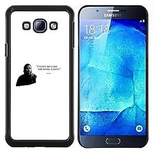 EJOOY---Cubierta de la caja de protección para la piel dura ** Samsung Galaxy A8 A8000 ** --No hay cura por ser un coño Bronn