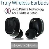 Remixd True Wireless Bluetooth Earbuds | Bluetooth Wireless Earbuds | Bluetooth Earbuds with Charging Case
