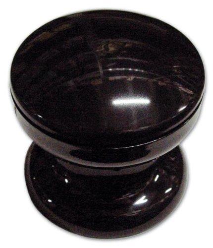 Pomolo per Portone in Resina colore Nero 70 mm OEM