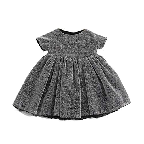 Infant Baby Girl Dress New Summer Princess Baptism Dresses for Girls 1St Year Birthday Party Wedding Newborn Clothing Costume Picture color1 4T]()