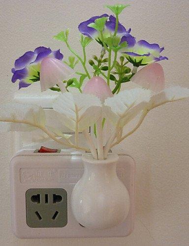 HJLHYL Five Of Plum Shimmering Control Sensor Led Night Light Wall Lamp , -