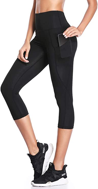 Capri Leggings Womens Workout Crop Pants Today!