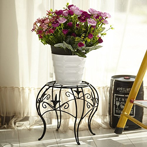 Amagabeli 10 X 12 Inch Metal Potted Plant Stand Rustproof Iron Import It All