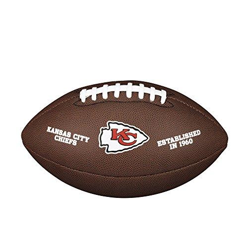 NFL Team Logo Composite Football, Official - Kansas City Chiefs