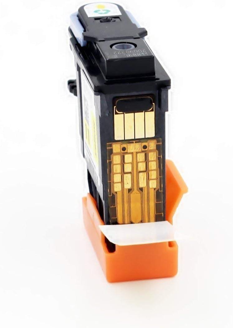 VIVINK Cabezal de impresión remanufacturado de Repuesto para Cabezal de impresión HP 11 Compatible con C4810A C4811A C4812A C4813A (Negro, Cian, Magenta, Amarillo-4 Unidades): Amazon.es: Electrónica