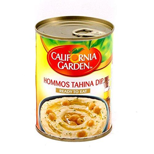 California Garden Conserva Hummus Tahini - 12 Paquetes de 400 gr - Total: 4800 gr: Amazon.es: Alimentación y bebidas