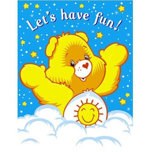 Care Bears Rainbow Invitations w/ Envelopes (8ct) Care Bear Invitations