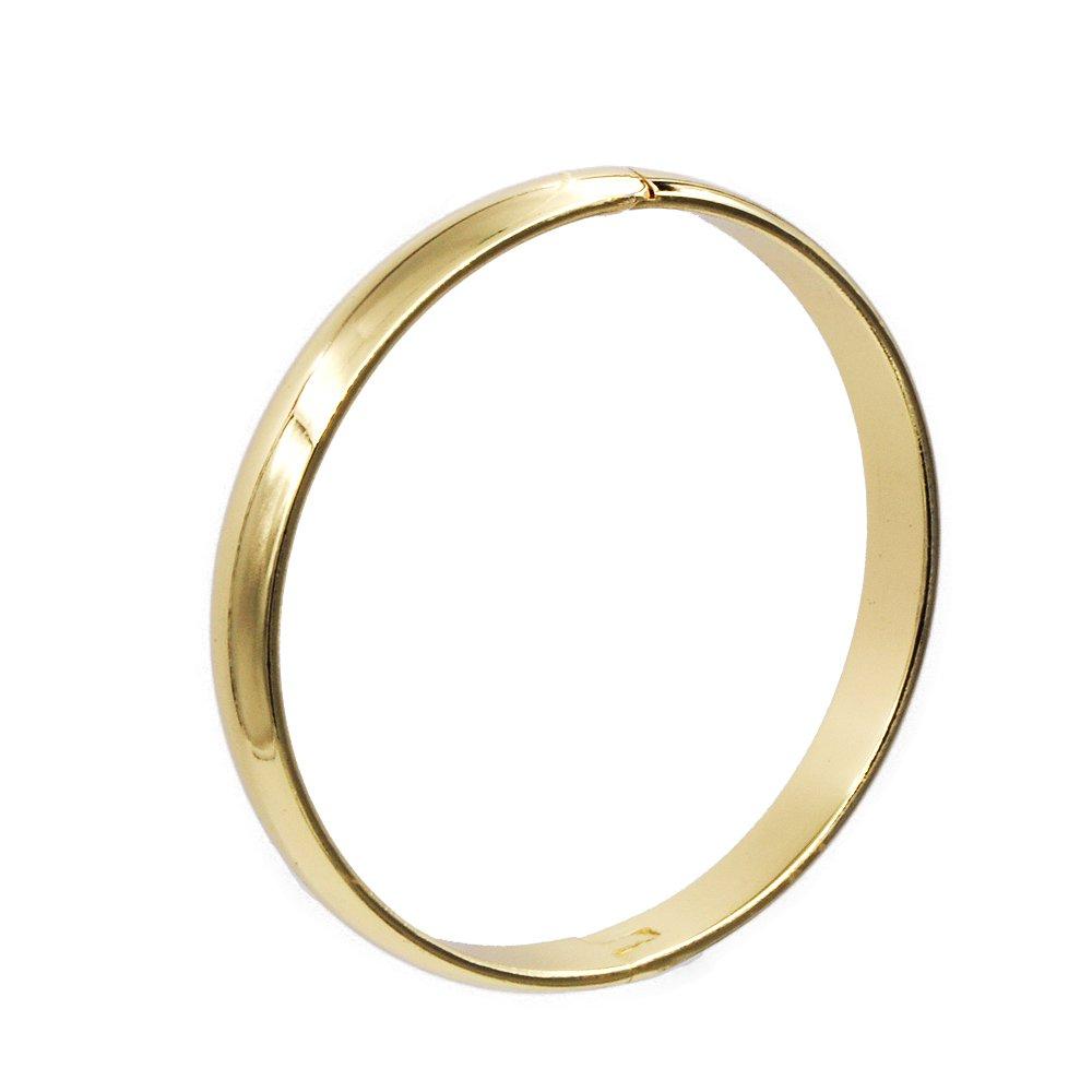HQLA Exquisite Copper Buckle Bangle Bracelet