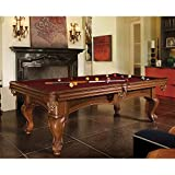 Brunswick Billiards Santini Billiard Table Package with Table Tennis Conversion Top