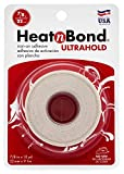 HeatnBond UltraHold Iron-On Adhesive, 7/8 Inch x 10 Yards