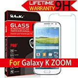 Galaxy K / S5 Zoom Glass Screen Protector, (C111 C115 C1158) AnoKe [Lifetime Warranty](0.3mm 9H 2.5D) Tempered Glass Screen Protector Film Shield For Samsung Galaxy K / S5 C111 C115 C1158 Zoom Glass