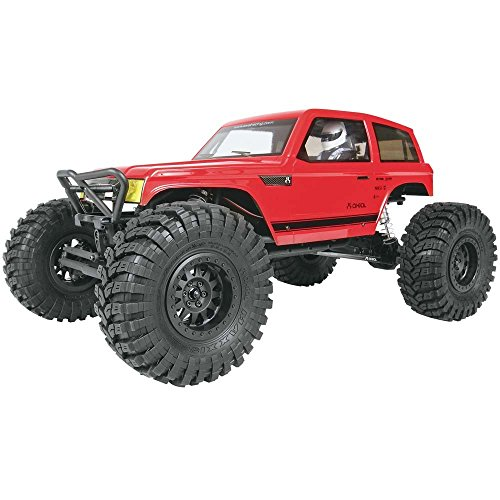 Axial Wraith Spawn 4WD RC Rock Racer Unassembled Off-Road 4x4 Electric Crawler, 1/10 Scale Kit ()