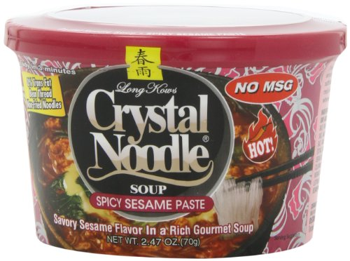 Crystal Noodle Soup, Spicy Sesame Paste, 2.47 Ounce (Pack of 6)