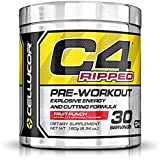 Cellucor C4® Ripped Pre-Workout Fruit Punch -180g (6.34 oz.)- 30 Servings