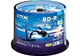 TDK Blu-ray BD-R Disk | 25GB 4x Speed Spindle 50 Pack (Japanese Import)