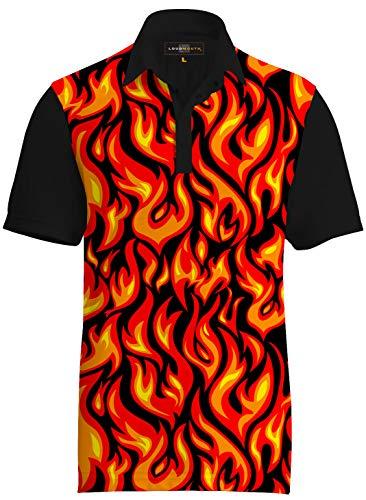 Loudmouth Golf Five Alarm Shirt -