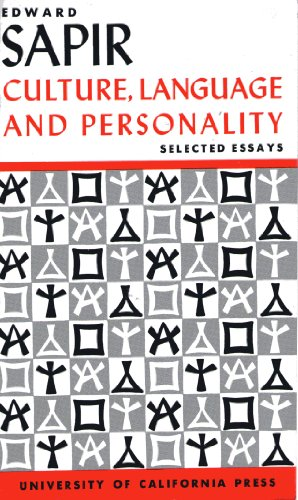 Culture, Language and Personality: Selected Essays