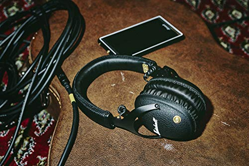 Marshall Monitor Bluetooth OverEar Headphone  Black