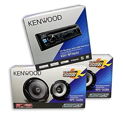 Cheap Car Audio Packages >> Kenwood Car Audio Package Deal 1 Unit Kdc Bt362u 2 Pairs Kfc 1665s