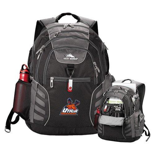 Utica High Sierra Big Wig Black Compu Backpack 'Official Logo' by CollegeFanGear