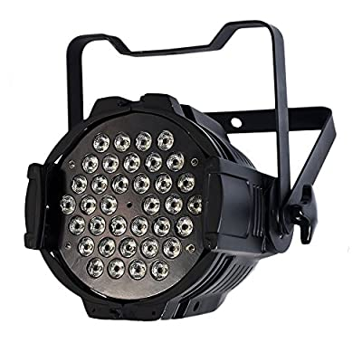 STSLITE Stage Lights PAR Wash 36pcs 3W RGB LEDs for Party Pub Club Church Theatre DJ Dancing Festival Christmas Halloween Holidays (P WASH 363)