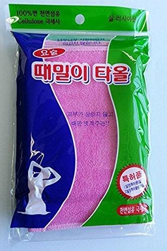 Magic Korean Beauty Towel Body Back Scrub By Jungjun Industry 정준산업 요술때밀이타올 (Towel Magic)
