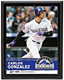 "Carlos Gonzalez Colorado Rockies Sublimated 10.5"" x 13"" Plaque - Fanatics Authentic Certified - MLB Player Plaques and Collages"