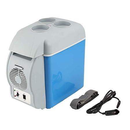 Mini refrigerador, refrigerador, refrigerador de autos de caja 7.5 ...