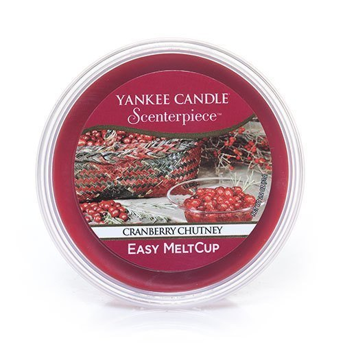 Scenterpiece Easy MeltCup 2.2oz - Yankee Candle Cranberry Chutney by Yankee Candle (Chutney Cranberry Yankee Candle)