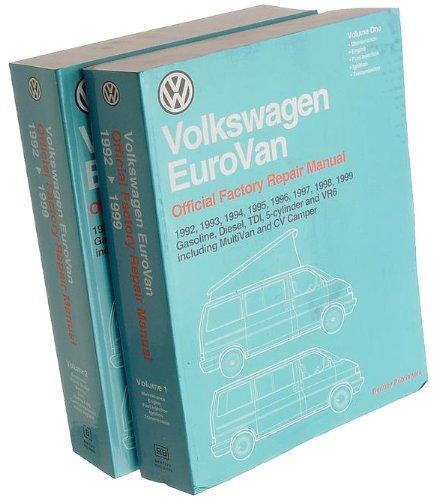 Bentley Paper Repair Manual VW EuroVan (T4)