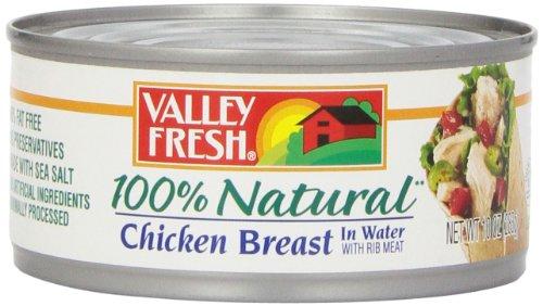 Valley Fresh White Chicken, 10 oz