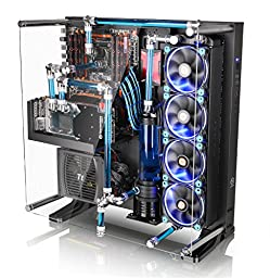 Thermaltake CORE P5 ATX Open Frame Wall Mount Mid Tower Liquid Cooling Computer Case CA-1E7-00M1WN-00