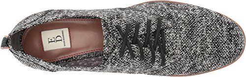 ED Ellen DeGeneres Women's Oberlin Black/White/Blue Multi Pixel Tweed/Selvidge Ribbon 8.5 M US by ED Ellen DeGeneres (Image #1)