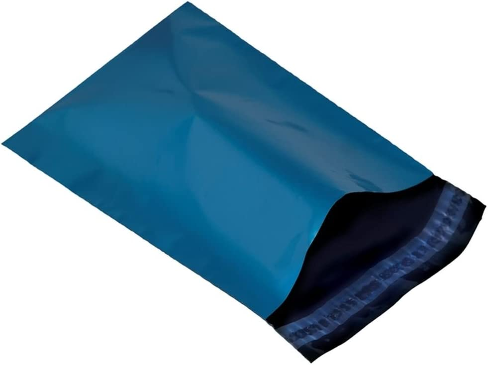 Metallic Blue 13 x 19 330 x 485mm Mailing Postage Postal Mail Bags 10
