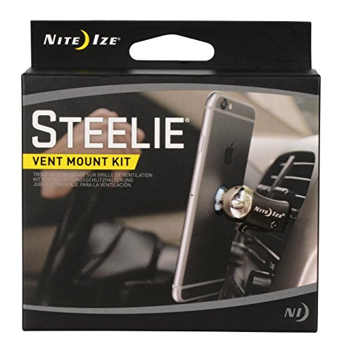 Nite Ize Original Steelie Vent Mount Kit-  Magnetic  Car Vent Mount for Smartphones by Nite Ize (Image #6)'