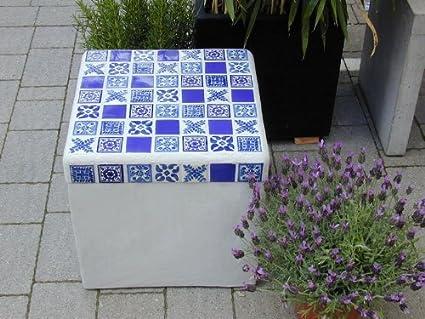 Kißkalt designs tavolo azulejo calcestruzzo tavolo azulejos