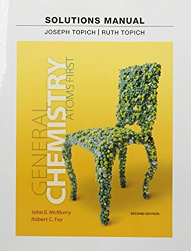amazon in buy instructor solution manual for general chemistry rh amazon in Atoms First Textbook Chemistry Atoms First PDF
